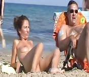 Voyeurisme à la plage