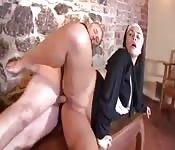 Prêtre et soeur