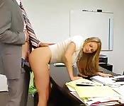 Dans le bureau du directeur