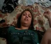 Amatrice prise sur le lit
