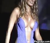 Un strip show très coquin