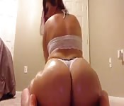 Une latina au cul énorme