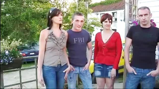 Trio chaud avec deux françaises coquines